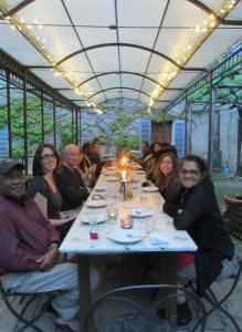 Dr. Driskell's Birthday at Spannocchia