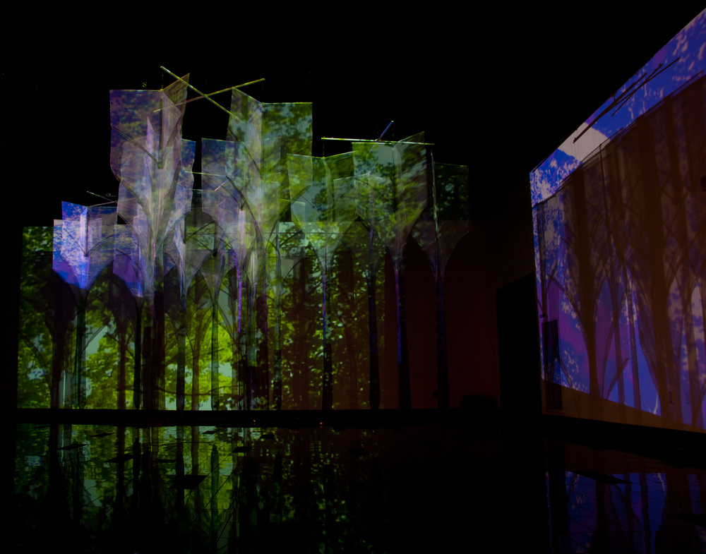 Gothic Forest installation