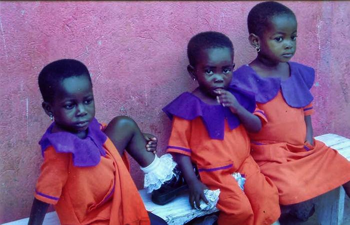 """Ghana Girls"" by Michelle R. Perkins, 2006"