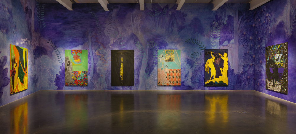 Chris Ofili for When Shadows Were Shortest