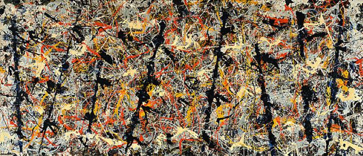 Jackson Pollock, Blue Poles, Number 11
