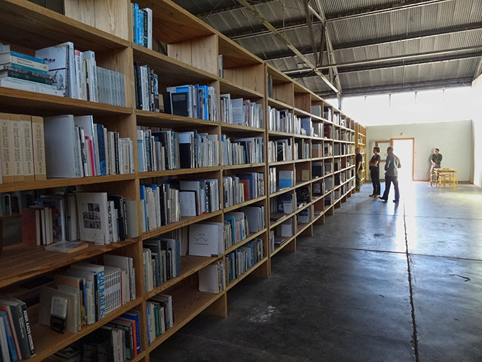 Research Fraction: Part of Donald Judd's private library