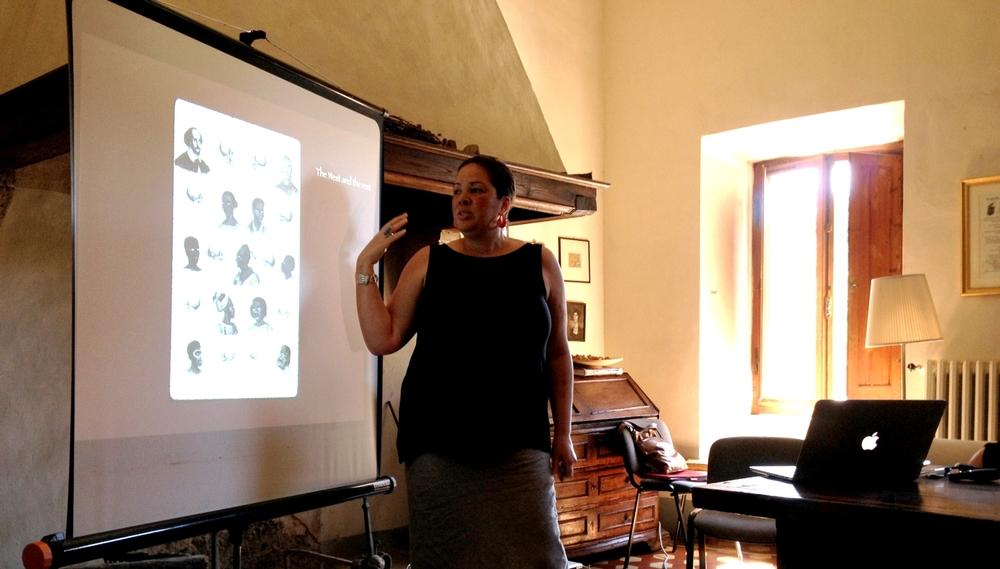 Dr. Adrienne Childs, Spannocchia, Spring 2015