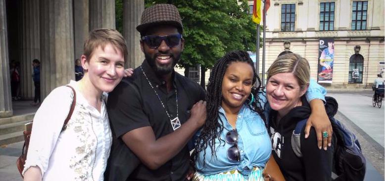 IDSVA Students in Berlin, Summer 2015