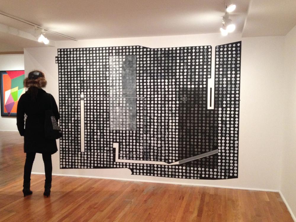 IDSVA Student, Studio Museum in Harlem. Photo by Simonetta Moro