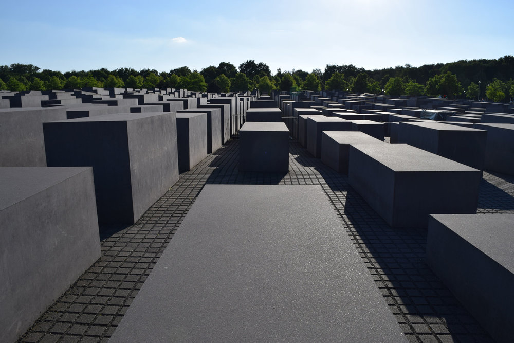 Berlin Holocaust Memorial. Photo by Erin Gleason.