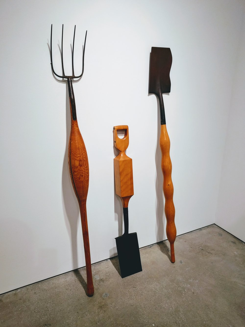 Pitchfork and Shovels, 1970, William Umbreit (Allan Stone Projects) Photo by Jonathan Morgan