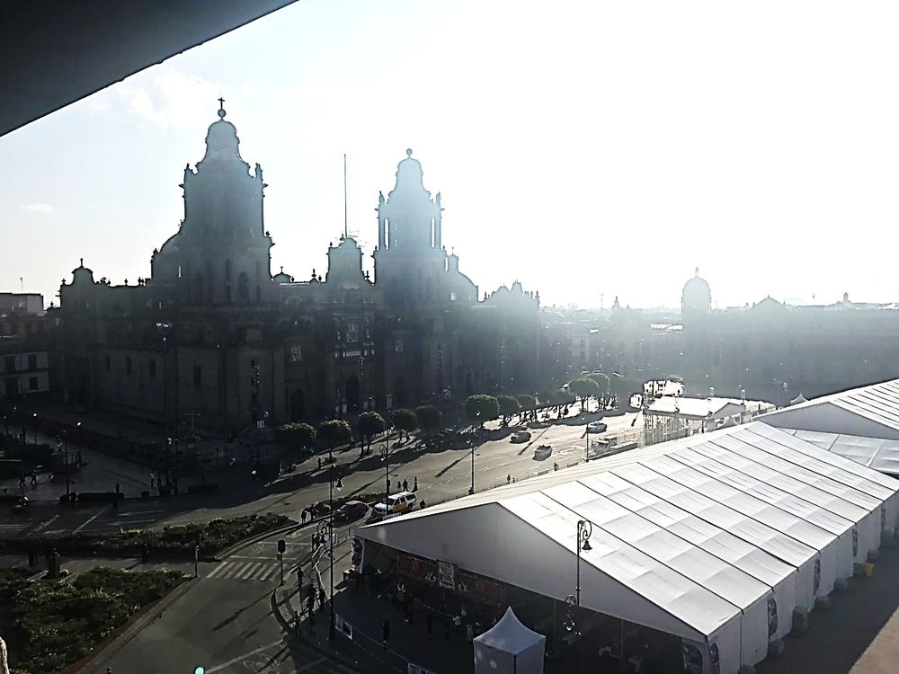 Catedral Metropolitana de Ciudad de México, view on June 2, 2018. Photo by Jeca Rodríguez-Colón