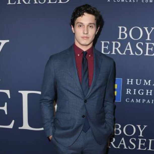 Josh looking fly at the Boy Erased film premier!