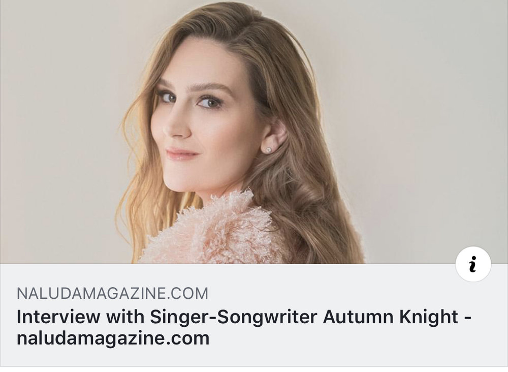 Beautiful article written on our Autumn!!