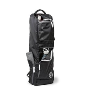 MANDUKA GO ROAM 2.0 YOGA MAT BAG (Black)  A cross-body messenger bag with pockets galore — so you don't need an extra bag.