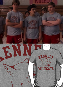 I wanted Arnold to be my boyfriend, and I wanted hair like Winnie — who didn't. And now, my adult self still wants that first love crush. So I will sport this Kennedy Wildcats t-shirt and hope some nerdy boy at the gym gets it.