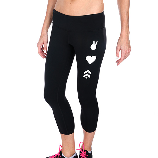 Women's Peace, Love & Barry's Ginger Capri