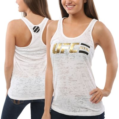 UFC Burn Out Racer Tank Top