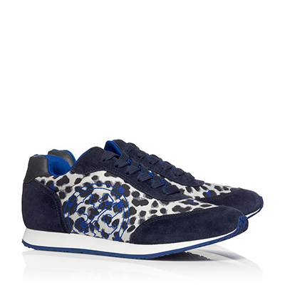 Tory Burch Delancy Printed Sneakers