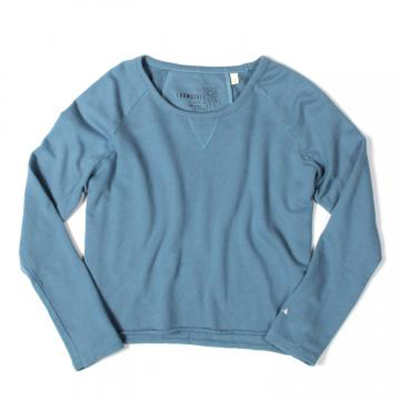 Loomstate Dawn Blue Raglan Sweatshirt