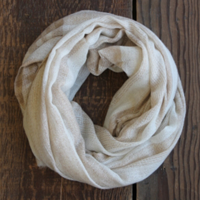 Synergy Organic Clothing Pale Silver Pashmina