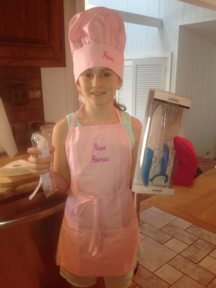 I have empowered my daughter by allowing her to CHOOSE to use a chef's knife and cook at the stove top — she is 7!