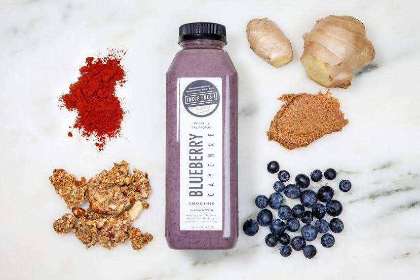 BLUEBERRY CAYENNE SMOOTHIE