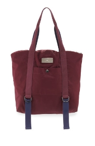 ADIDAS BY STELLA MCCARTNEY Yoga Tote Bag, Maroon/Blue/Gray $110.00