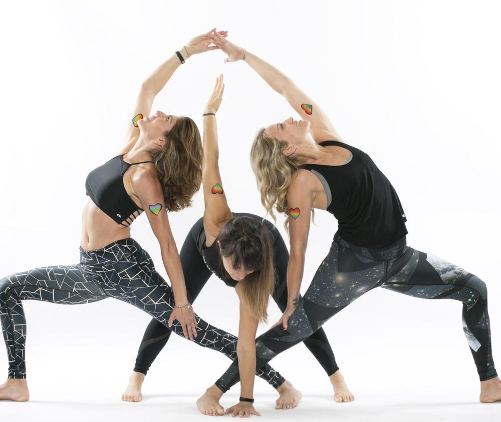 Lindsey Valdez + Lauren Taus + Rebecca Hajek, Pure Yoga / Yoga Vida