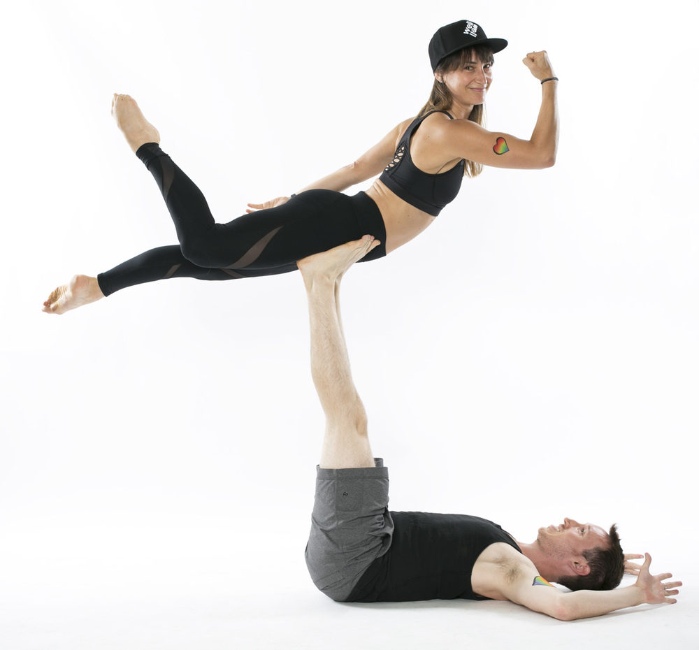 Shannon Algeo,Life Coach and Yogi + Lauren Taus, Life Coach/ Pure Yoga
