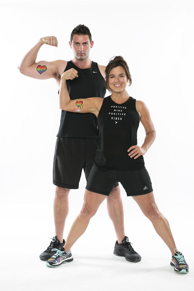 Amy Freeze, ABC7 News + Taylor Cicchino, TC Fitness