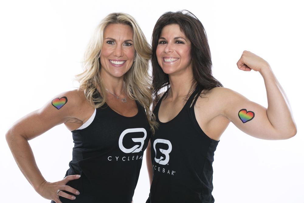 Marisa Kochnover + Lisa Niren, CycleBar