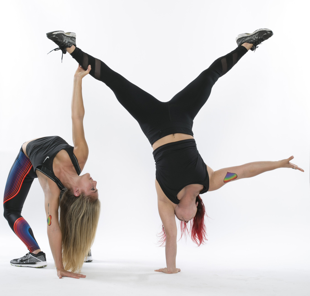 Sylvie Curci, Acro Yogi + Alex Silver Fagan, CityRow / SOLACE NEW YORK