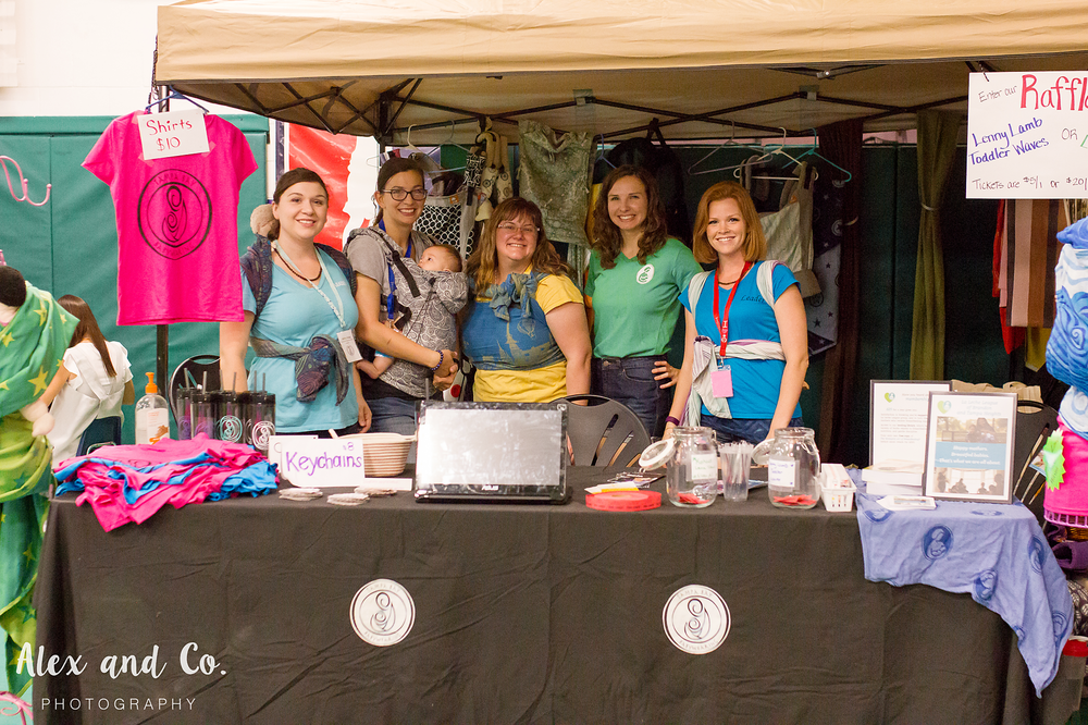 Alex and Co. Photography | Tampa Bay Birth Network | Natural Birth & Baby Expo 2016 | Tampa Bay Babywearing