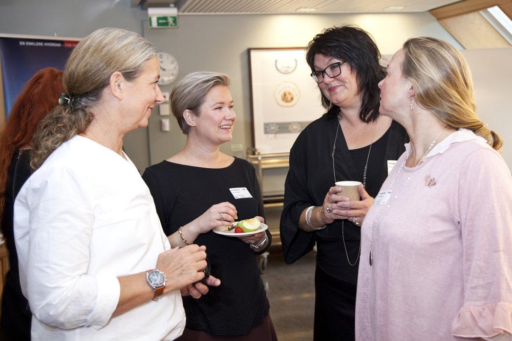 Martina Propers, Celine Gulset, Karoline Skotte and Elisabeth L. Due