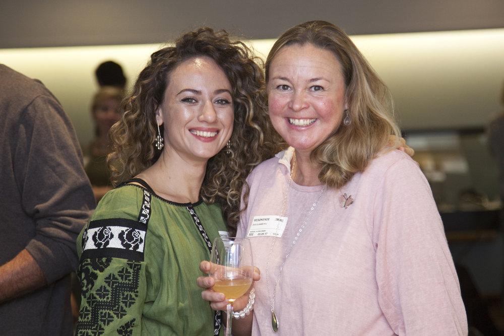 Designers Daria Ryndak and Elisabeth L. Due