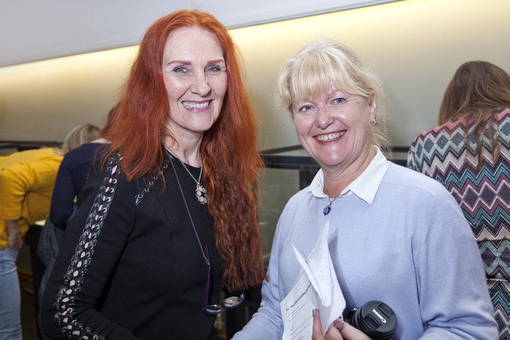 Designer Gudny Aspaas and Eva Alnes Holte (Gull og Ur)