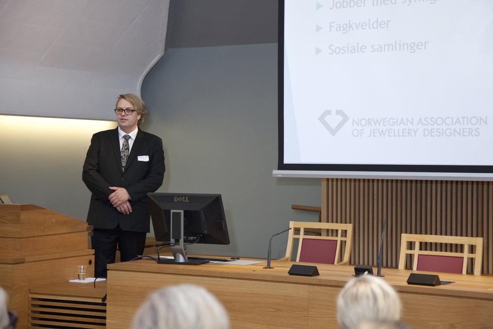 Presentation of Paul Gude Deberitz (NAJD)