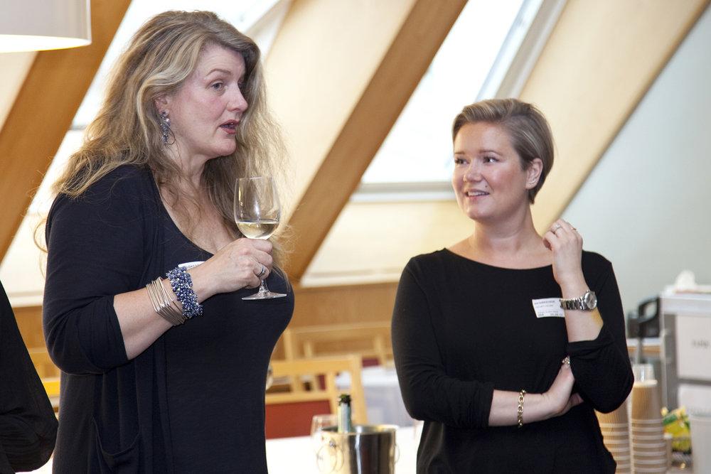 Liisa Gude Deberitz and Celine Gulset