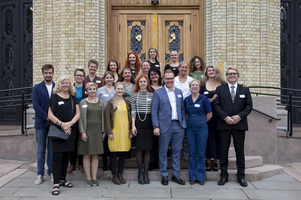 Jewellery designers and NAJD board members