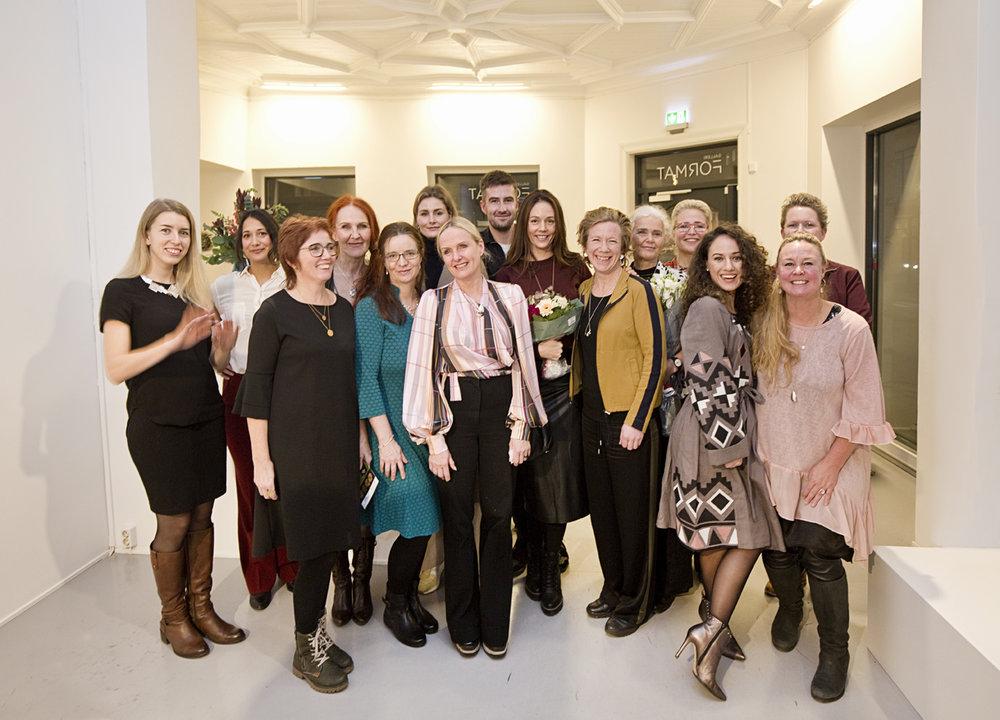 12 designers and NAJD