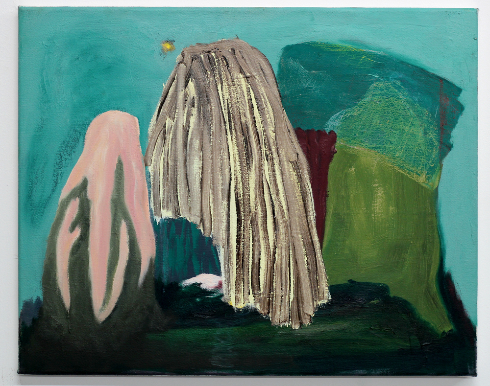 Veronika Hilger - o.T., 2015 - oil on canvas - 40 x 50 cm