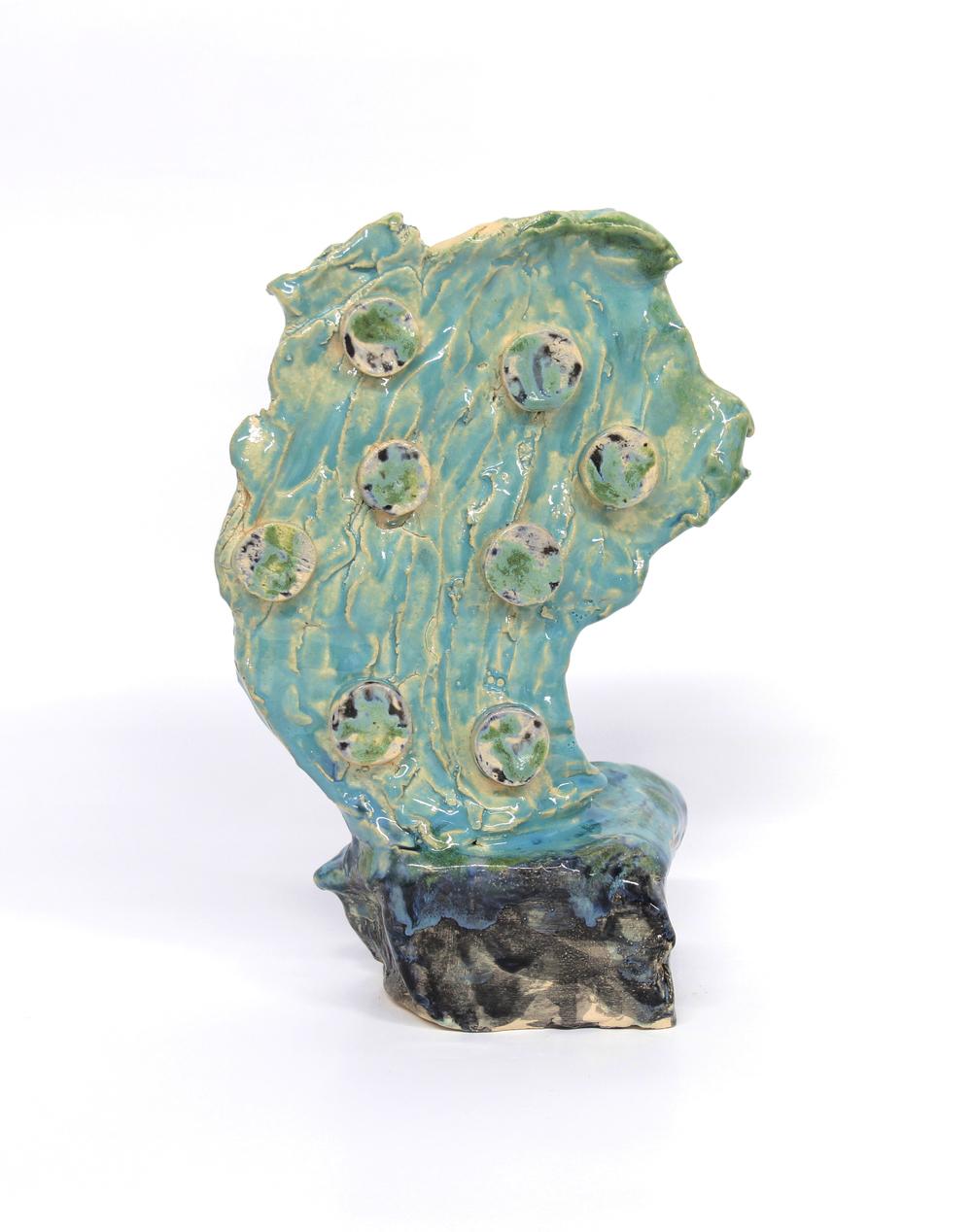 Veronika Hilger - o.T., 2015 - glazed ceramic - 26 x 17 x 8,5 cm