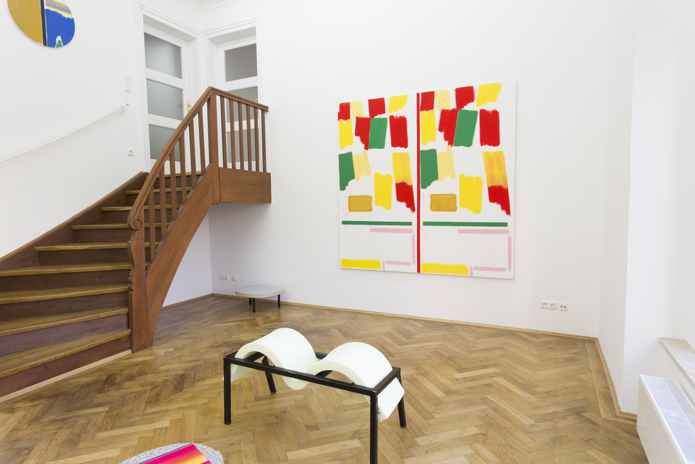 Elvire Bonduelle - waiting room #4 - installation view (Bernard Piffaretti, Elvire Bonduelle)