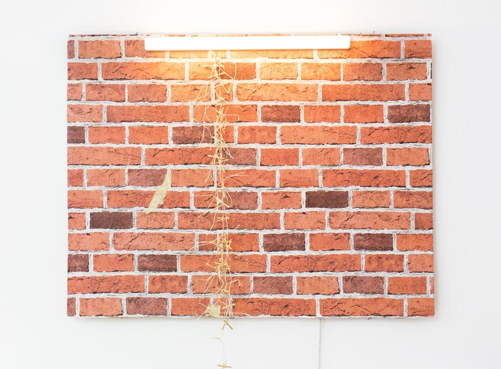 Anna McCarthy - Back Alley Border - 2016 - mixed media - 83 x 91 cm