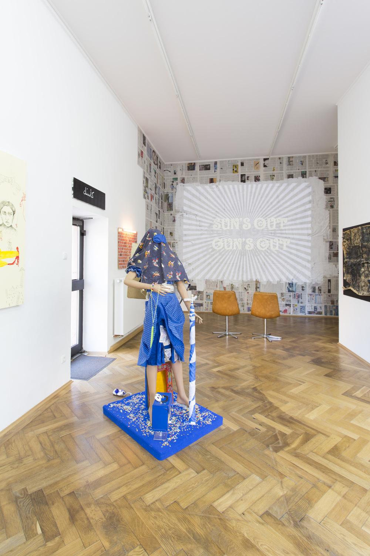 Anna McCarthy - DRINK COLD, PISS WARM - installation view