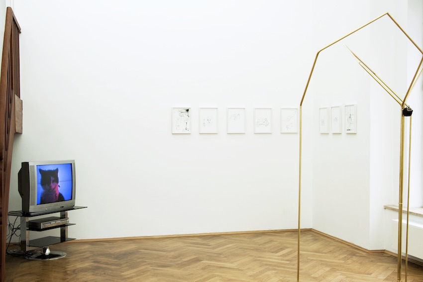 LATENT FICTION installation view: Joseph Walsh - Ulrich Hakel - Mirja Reuter