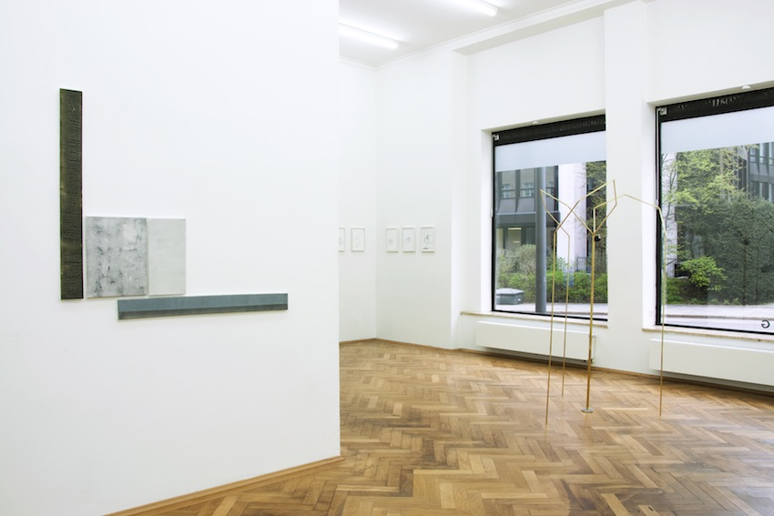 LATENT FICTION installation view: Michael Franz - Ulrich Hakel - Mirja Reuter
