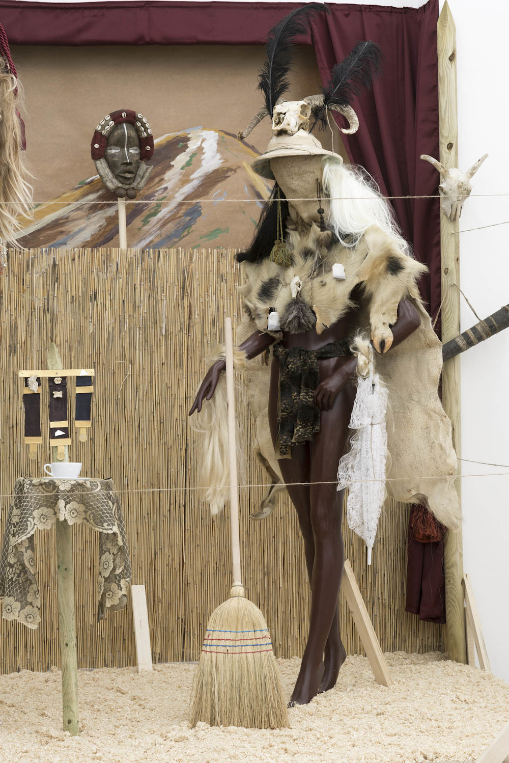Andrew Gilbert, 'Shaka Zulu - the Musical' (detail), 2016, mixed media, dimensions variable, Photo by Leonie Felle