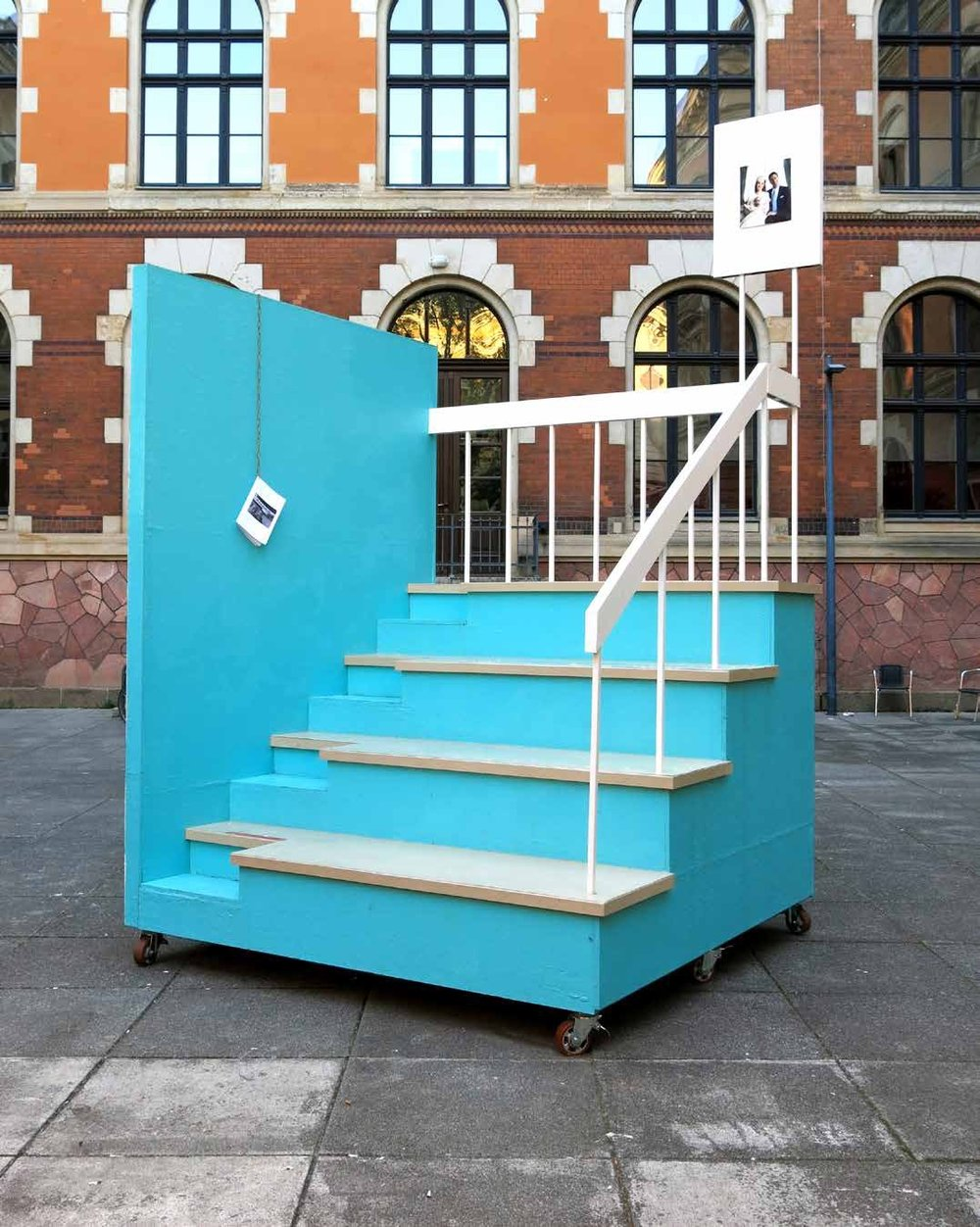 Installation view, ART N MORE LONDON, 2014, HBG, Leipzig