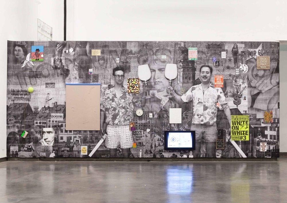 Installation view, ART N MORE STUDIENPREIS, 2013, Galerie der HGB, Leipzig
