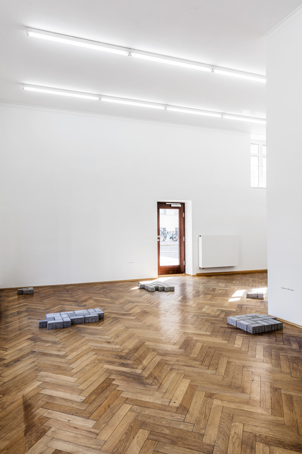 Thomas Geiger, Private Monuments, installation view