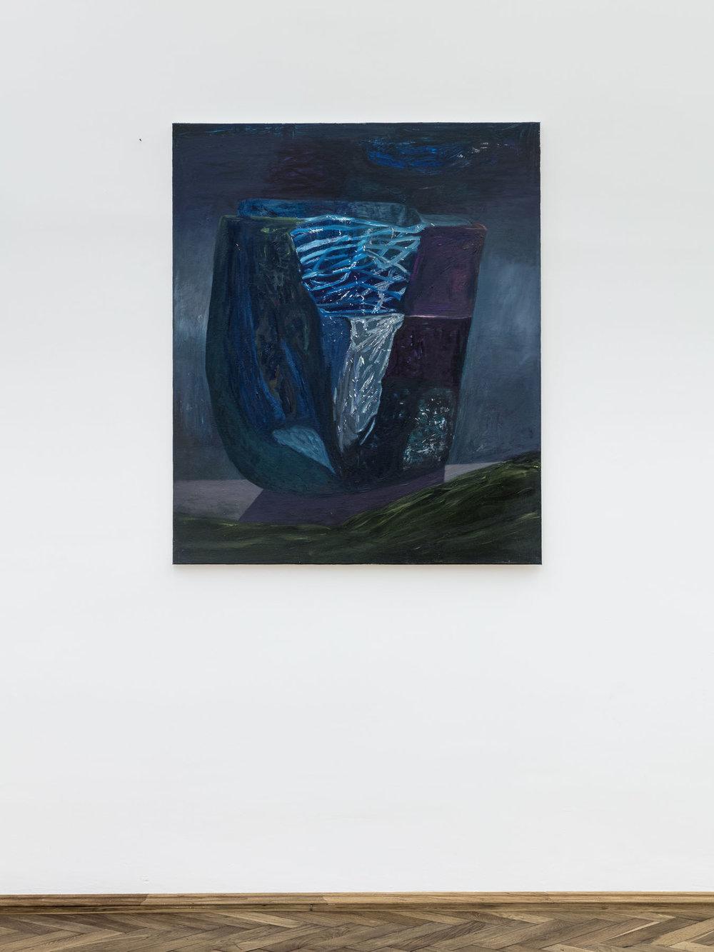 Veronika Hilger, untitled, 2016, oil on canvas, 120 x 100 cm