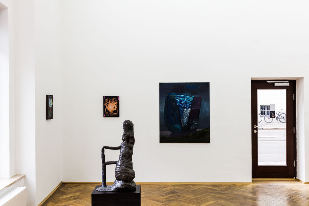 Veronika Hilger, Nacht, installation view
